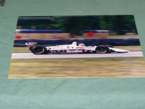 "LOLA FORD Indycar Nigel Mansell. CART race 1993  10x8"" colour photo"